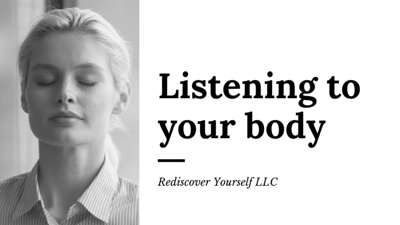 Listening to your body